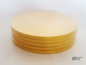 Gold Round Drum