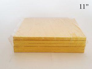 Gold Square Drum